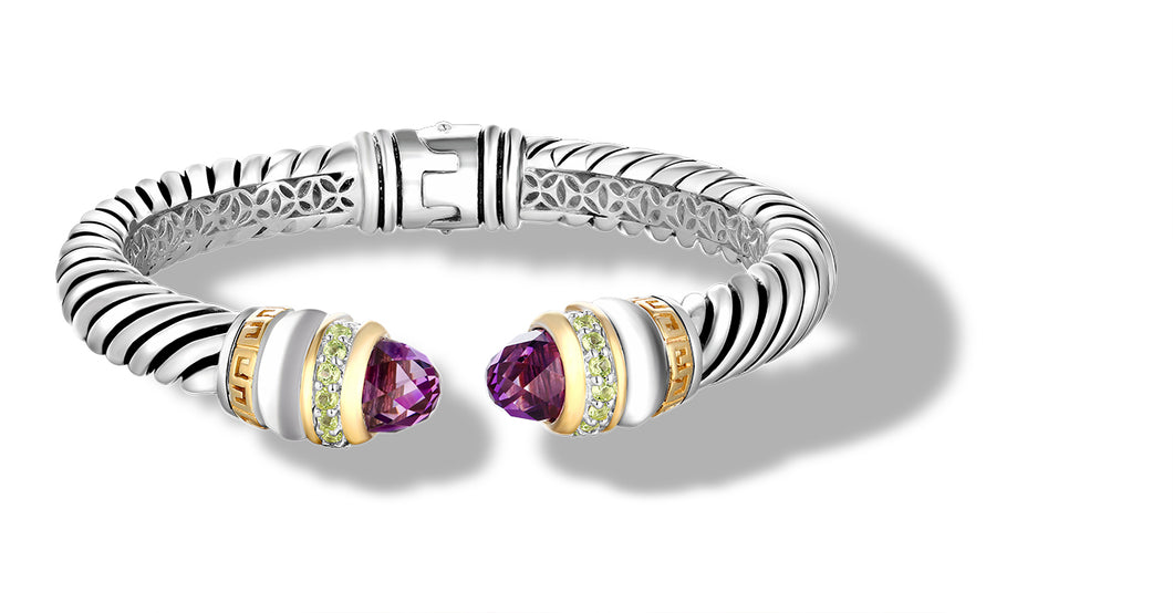 ZIKARA BRACELET AMETHYST - Gir Collection