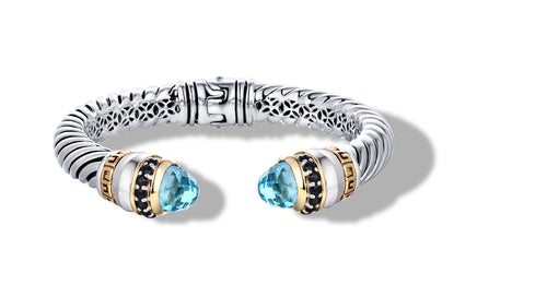 ZIKARA BRACELET BLUETOPAZ - Gir Collection
