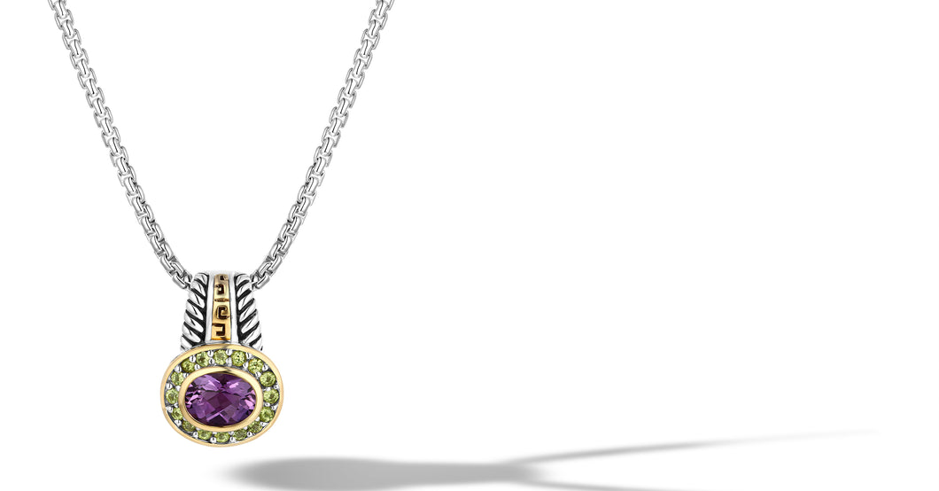 ZIKARA NECKLACES AMETHYST - Gir Collection