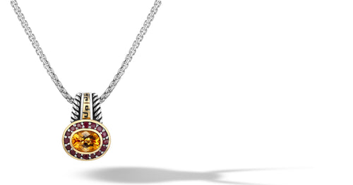 ZIKARA NECKLACE CITRINE - Gir Collection
