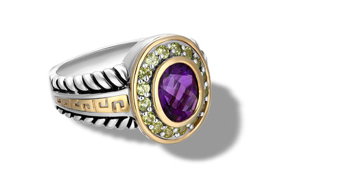 ZIKARA RING AMETHYST - Gir Collection