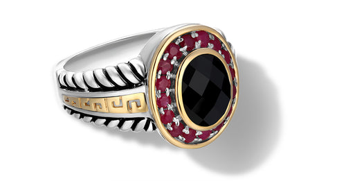 ZIKARA RING ONYX - Gir Collection