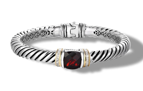 RUTA BRACELET GARNET - Gir Collection