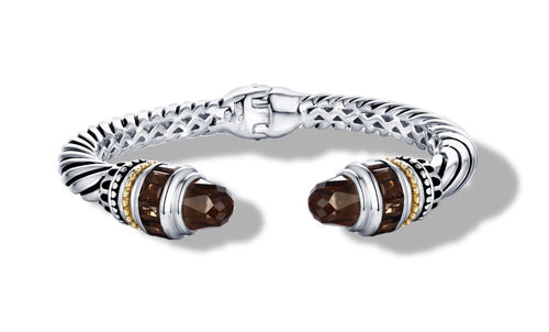 MAYA BRACELET SMOKEY TOPAZ - Gir Collection