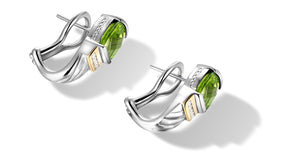 RUTA EARRINGS PERIDOT - Gir Collection