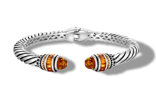 MAYA BRACELET CITRINE - Gir Collection