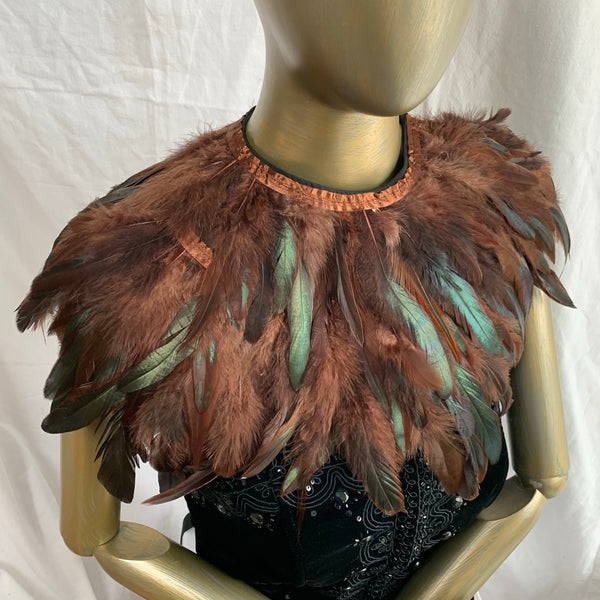 Feather collar