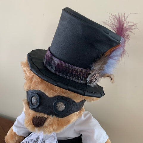 Mr Teal's cousin - costumed bear (not a toy)