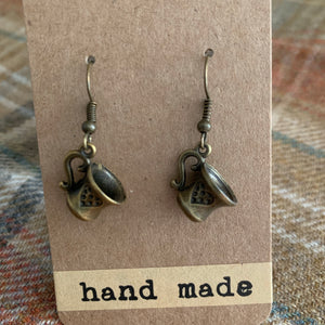 Teacups earrings