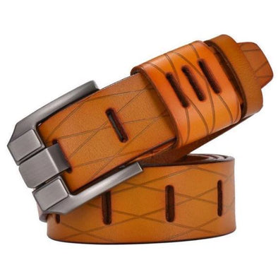 Marcus Leather Rugged Modern Belt