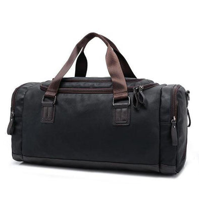 Marcus Leather Large Duffel Bag