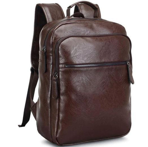 Marcus Leather Rucksack Backpack