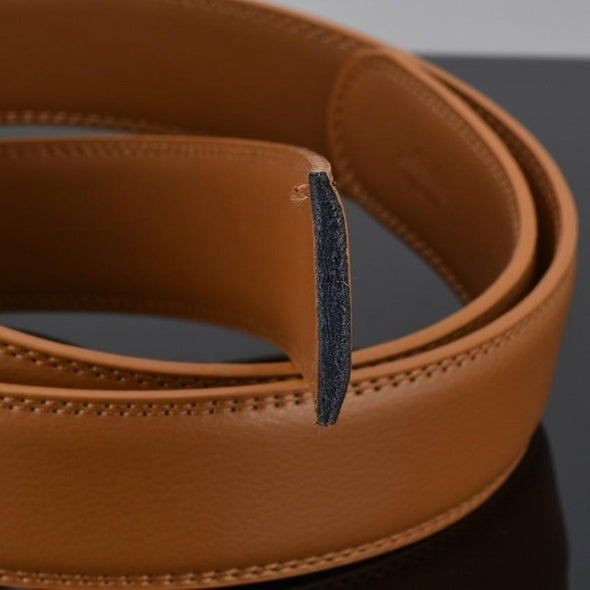 Marcus Leather Chrome Mission Belt