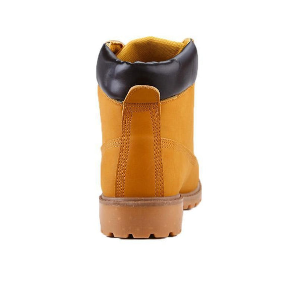 Marcus Leather Winter Boots With Fur Lining Option