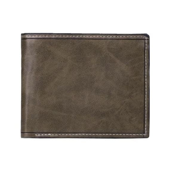 Marcus Leather Casual Bi-Fold Wallet