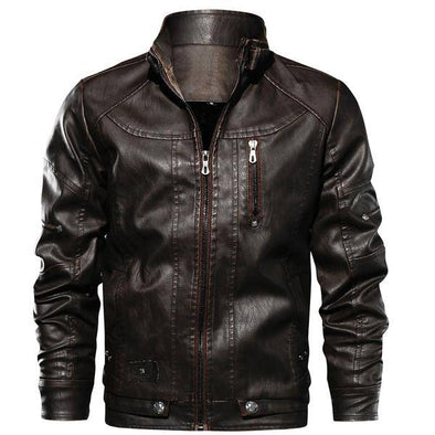 Marcus Leather Lone Rider Jacket
