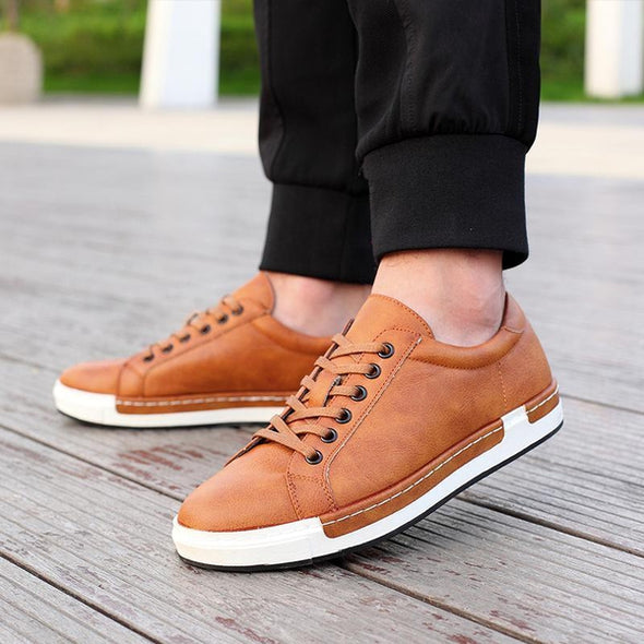 Marcus Leather Casual Club Shoes