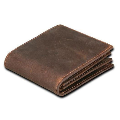 Marcus Leather High Capacity Bi-Fold Wallet