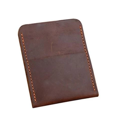 Marcus Leather Dual Pocket Card Holder