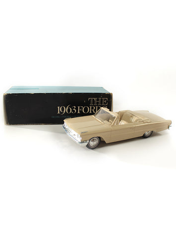 1963 ford galaxie convertible dealership promo model box