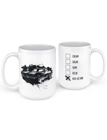 1967 vette splatter mug gifts for car lovers