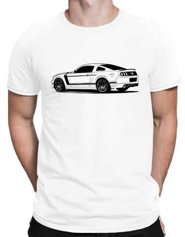 302 pony car t shirt mens car shirts