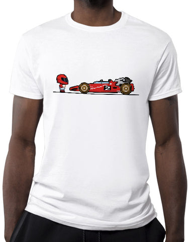8 bit indy race car shirts hoodies mens white