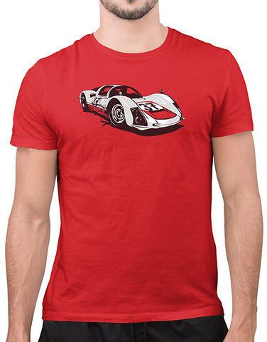 906 race car shirts classic car shirts mens red