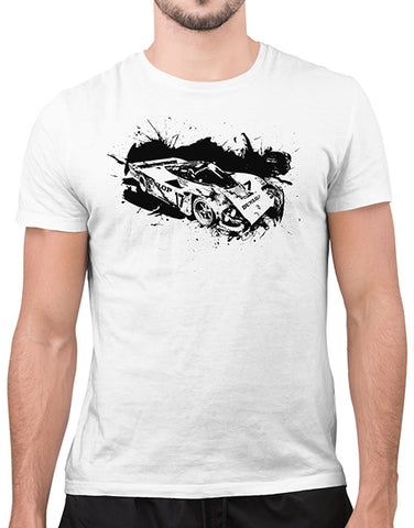 962 imsa gt le mans race car shirt mens car shirts white