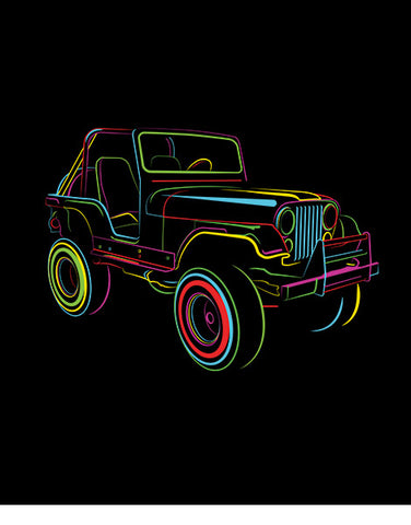 CJ2  Off Roading T Shirts Hoodies flat
