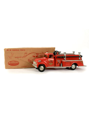 collectible toys tonka no 46 suburban pumper fire truck