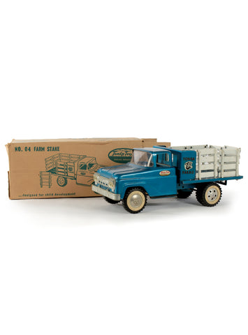 collectible toys tonka no 04 farm stake truck