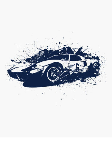 ford gt40 shirt racing shirts flat
