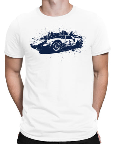 ford gt40 shirt racing shirts mens white