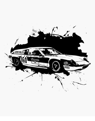 lotus europa race car t shirt car shirts