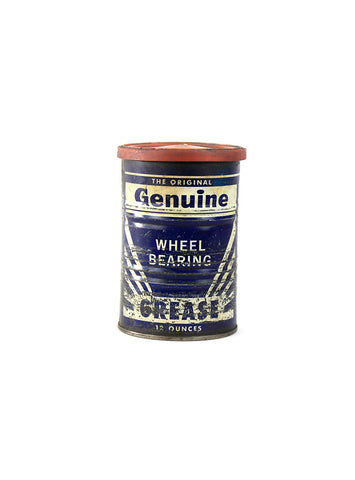 vintage oil cans genuine wheel bearing grease