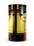 vintage oil cans large pennzoil trash can
