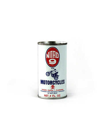 vintage oil can nitro 9 man cave decor