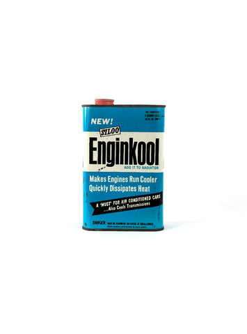 Vintage Oil Cans - Rare Siloo Enginkool