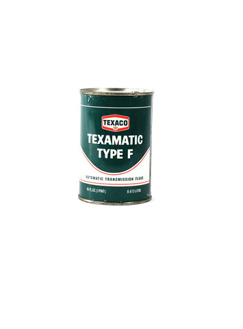 Vintage Oil Cans - Texaco Texamatic Type F