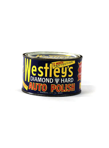 Vintage Oil Cans - Westley's Auto Polish