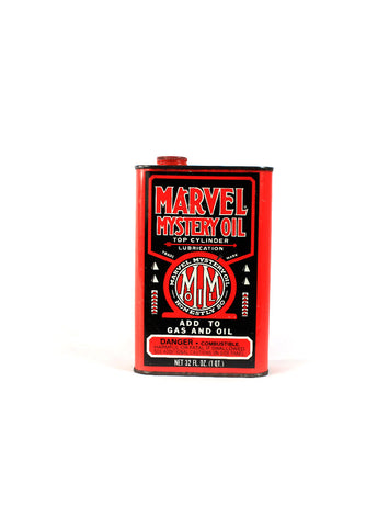 Vintage Oil Cans - Marvel Mystery Oil