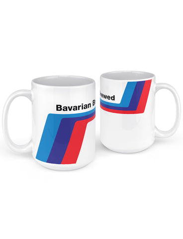 bavarian brewed race car mug gifts for car lovers
