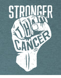 cancer shirts stronger than cancer shirt flat