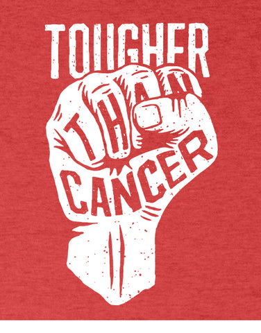 cancer shirts tougher than cancer shirt flat