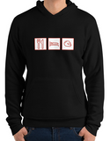 car shirts eat sleep helmet black premium hoodie