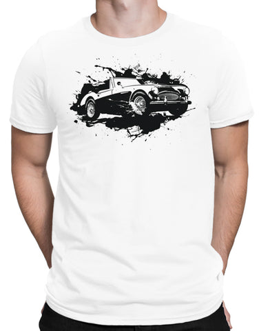classic car t shirts british sports car shirts mens white