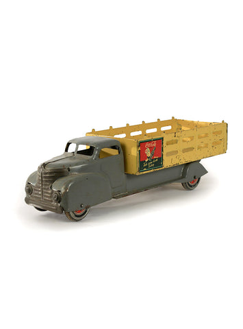 collectible toys marx coca cola stake truck side