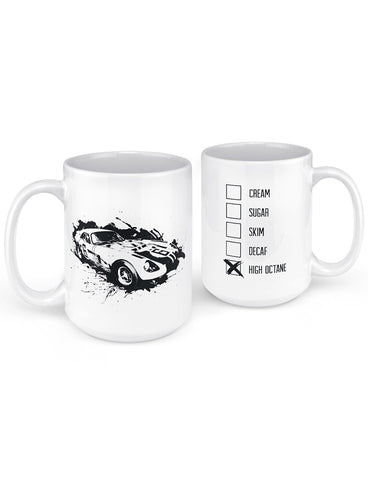csx splatter race car mug web