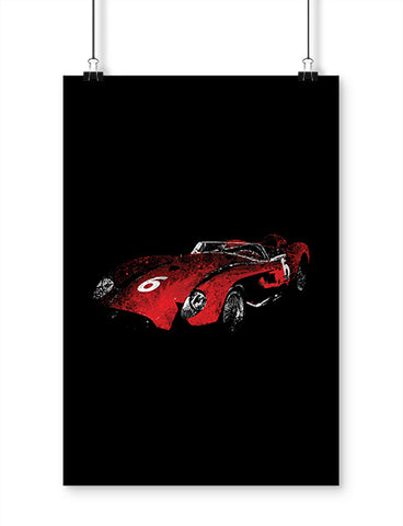 Ferrari 250 Testa Rossa Car Art